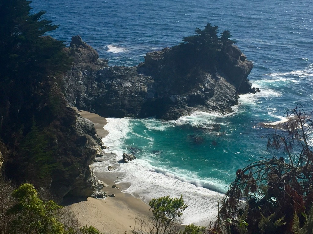 oh hey, julia pfeiffer burns state park.